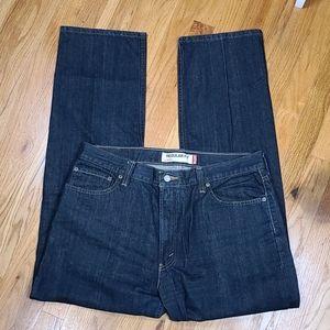 Levi's 505 Regular Fit Dark Wash Jeans